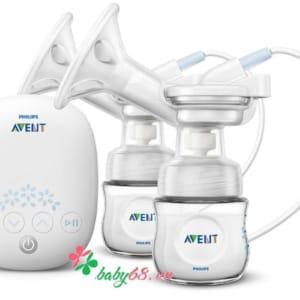 Máy hút sữa Avent điện đôi SCF303-01