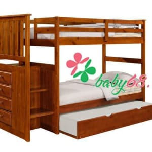 Giường Mision Stairway 1m4