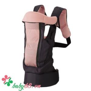 Địu Combi LaQuit 3 cách màu hồng nhạt