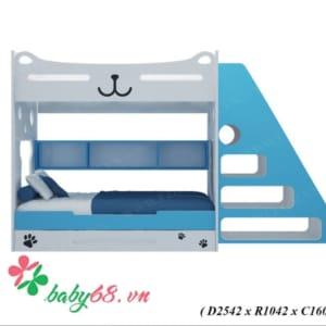 Giường tầng gấu mèo GT08
