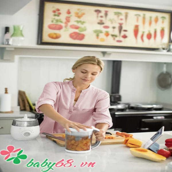 Máy hấp và xay thức ăn 4 trong 1 Philips Avent SCF875/02