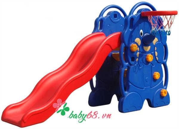 Cầu trượt hình voi QQ970