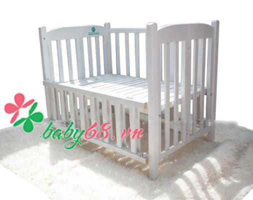 Cũi gỗ sơn trắng Goldcat C71T