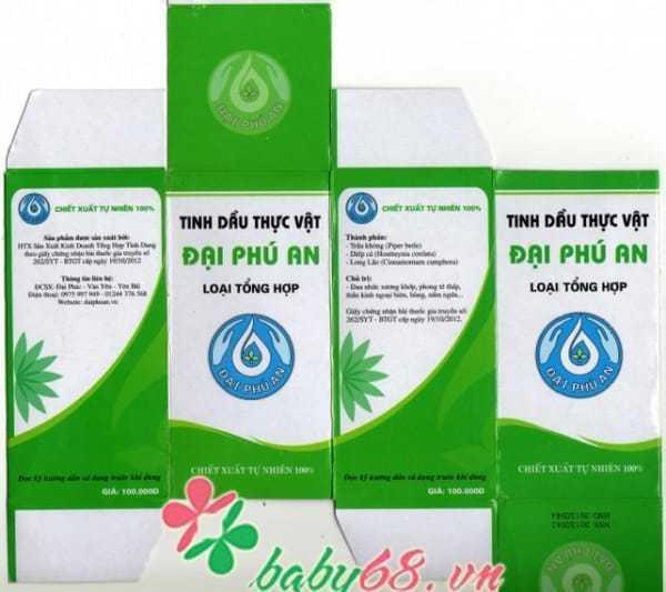 Tinh dầu thực vật Đại Phú An 15ml