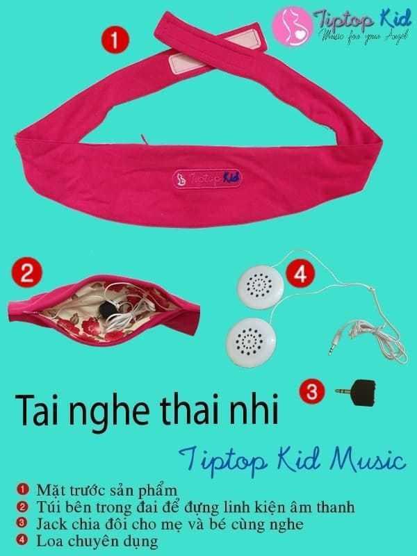 Tai nghe thai nhi Tiptop Kid Music