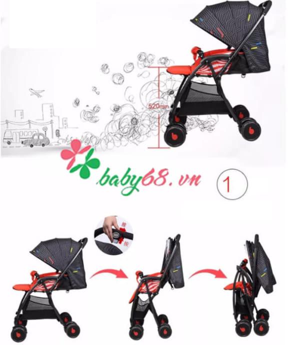 Xe đẩy cho bé Baobaohao 736S