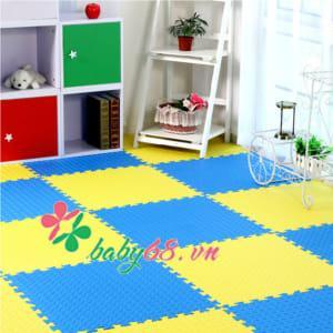 Thảm xốp lót sàn 4 miếng trơn 60x60cm