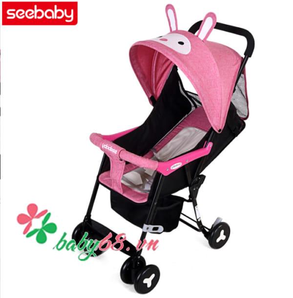Xe đẩy cho bé Seebaby QQ2-1 Rabbit