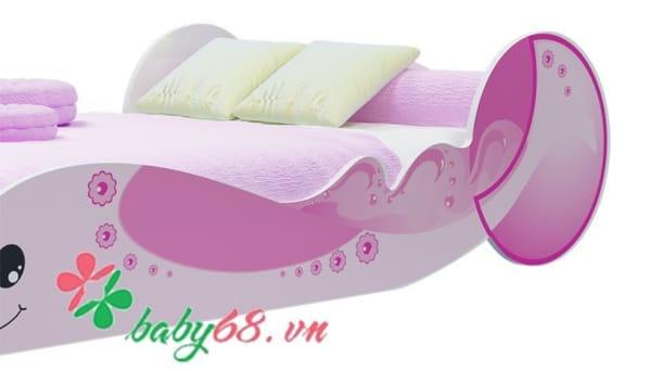 Giường đơn cá voi GD13