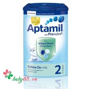 Sữa Aptamil số 2 900g (6-12 tháng)