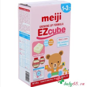 Sữa Meiji 9 Growing Up Formula EZcube (16 thanh)