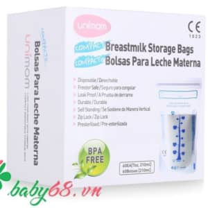 Túi trữ sữa Unimom Compact UM870251 (30 túi, không cảm ứng)