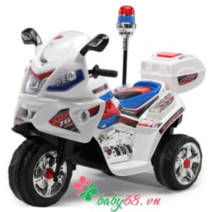 Xe máy điện cảnh sát cho bé