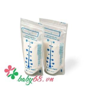 Túi đựng sữa mẹ Unimom Standard 210ml (10 túi/hộp) UM870374