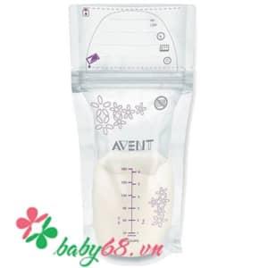 Túi trữ sữa avent SCF603/25 180ml