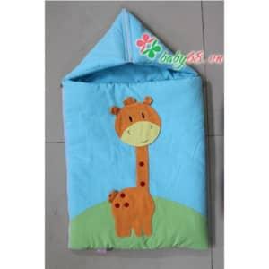 Túi ngủ có mũ sơ sinh 012