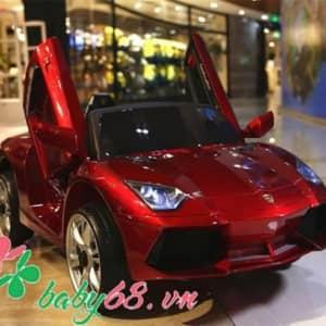 Xe ô tô điện trẻ em Lamborghini BBH718