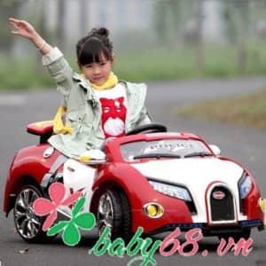 Xe ô tô điện cho bé SX1118 (kiểu cảnh sát)