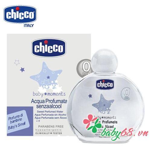 Nước hoa hương tự nhiên 0M+ Chicco