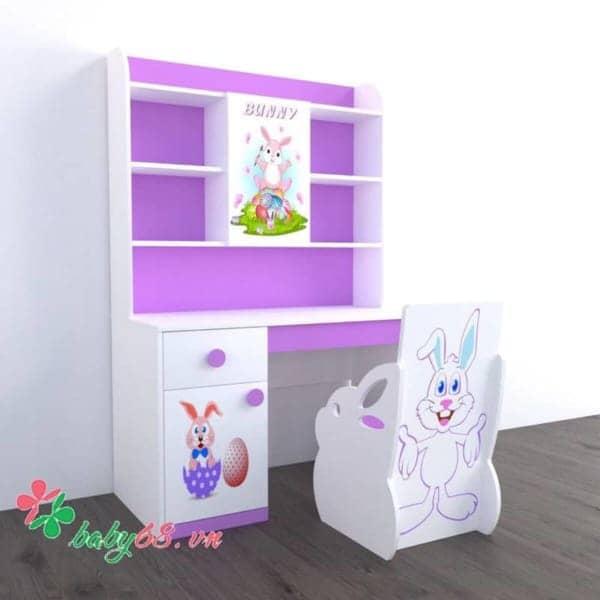 0025238 Ban Hoc Tre Em Bunny Bh08