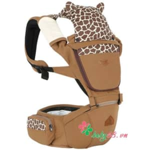 1498119626 Diu Em Be I Angle Animal Hipseat Carrier Ia 120 Cm Mau Da Bo Camel 0