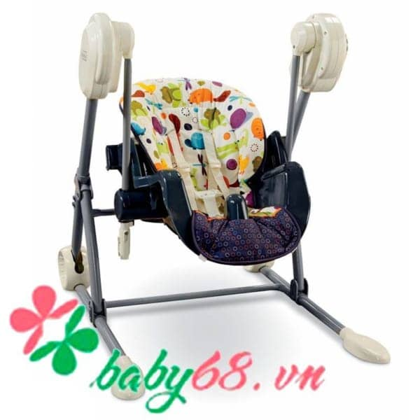 0003700 Ghe An Fisher Price Cho Be Ket Hop Xich Du