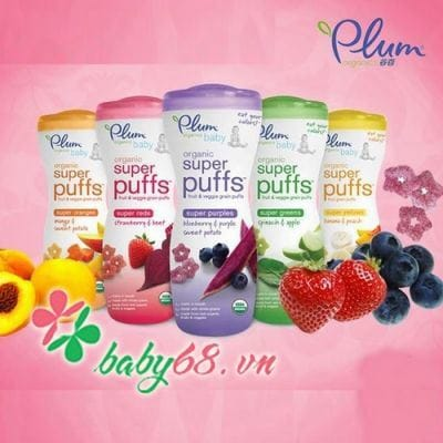 0014646 Banh An Dam Plum Organic Cho Be Loai Cao