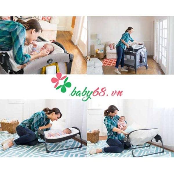 Giuong Cui Graco Portable Napper Changer Studio 2 (1)