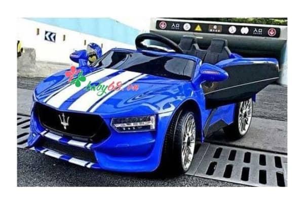 Xe O To Dien Tre Em Maserati Kl 1888 Blue 2