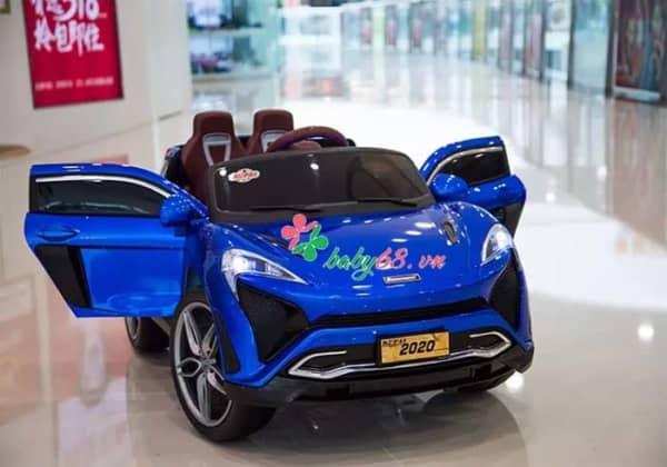 Xe O To Dien Tre Em Mercedes 2020 Blue
