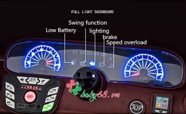 Xe O To Dien Tre Em Mercedes 2020 Light 1