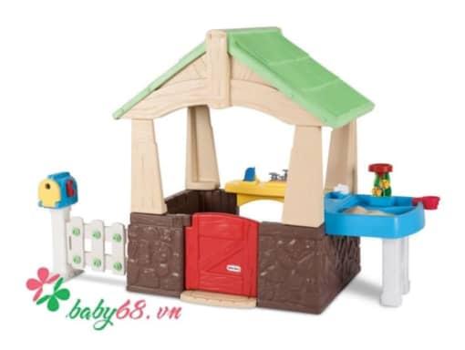0023031 Nha Vuon Deluxe Home Garden Playhouse Little Tikes Lt 630170
