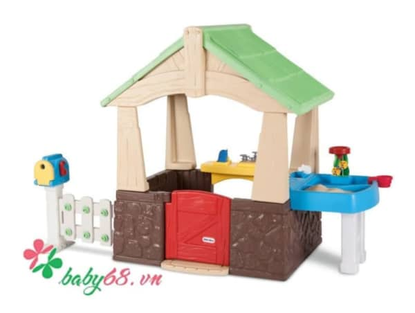 0023031 Nha Vuon Deluxe Home Garden Playhouse Little Tikes Lt 630170
