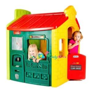 Tikes Town Playhouse Evergreen 1 800x693