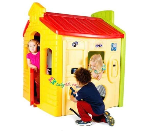 Tikes Town Playhouse Evergreen 4 800x693