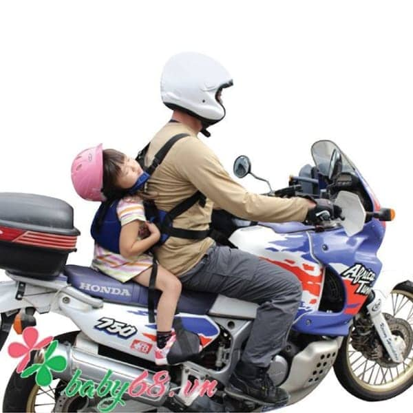 0010443 Dai Song Hanh Cho Nguoi Di Xe May Tandem Belt Mau Xanh