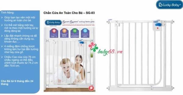 Chan Cua An Toan Khong Can Khoan Tuong Lucky Baby Gs 03