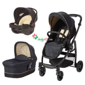 20383 Travel System Graco Evo Trio Navy Sand
