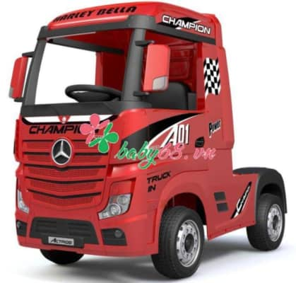 Mercedes Actros Truck Licensed Ride On Car Toy Electric Kids Car (2)